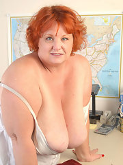 Erotic older plump women